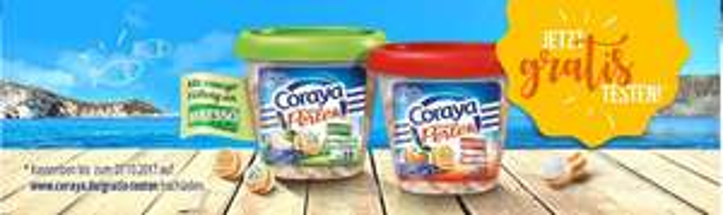 Coraya Surimi-Perlen mit Bresso gratis testen