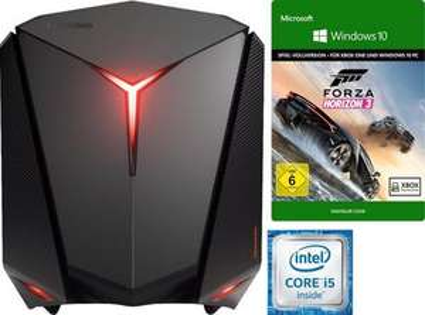 Lenovo ideacentre Y710 Cube-15ISH Gaming-PC, Intel® Core™ i5, 12288 MB DDR4, NVIDIA Geforce GTX1060