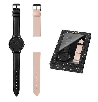 Cluse-Uhren im Angebot bei Vente Privée, z.B. Geschenkset aus Uhr + Wechselarmband für 61,50€ statt ca. 85€