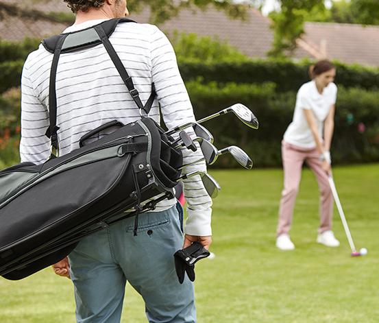 [Tchibo] Golf-Komplettset mit Tasche (Halbsatz für Rechtshänder) für 69 Euro, 62,10 Euro mit Tchibo Card