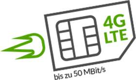Günstigster monatlich kündbarer Tarif inkl. 1 GB LTE + Allnet & SMS Flat: Maxxim o2-Netz für 6,49 € / Monat