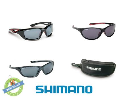 Shimano Polaroid Sonnenbrille inklusive Case (3 Optionen zur Auswahl)