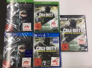[lokal] Call of Duty Infinite Warfare Legacy Edition und Dishonored 2 Media Markt Centrum Galerie Dresden