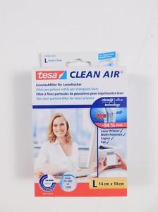 [ebay] tesa Feinstaubfilter für Laserdrucker Clean Air Größe L 14x10cm [VGL: 20€]