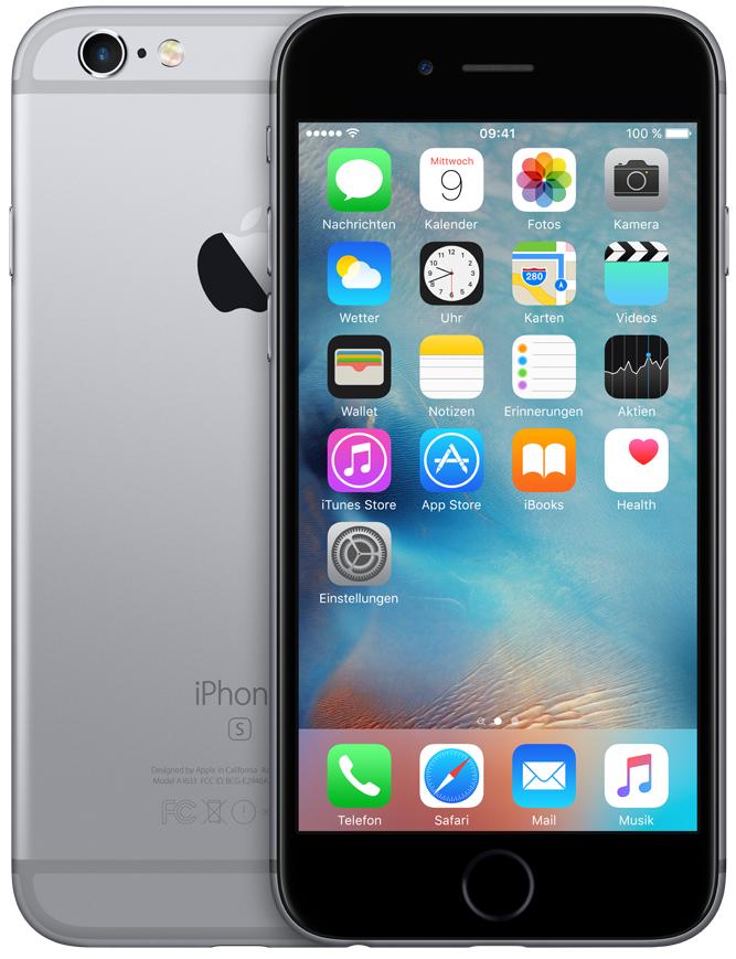 [Media Markt CH Grenzgänger] Apple iPhone 6s 32GB NEU in allen Farben für ~438€