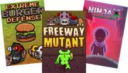 PC Spiele: Extreme Burger Defense, Freeway Mutant, und 10 Second Ninja X GameMaker Edition