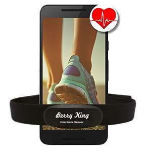 BerryKing Heartbeat Brustgurt oder BerryKing HeartRate Armband
