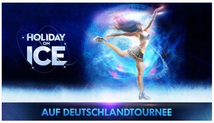 Familienentertainment - Holiday on Ice Tour 2017/18 (alle Themen & fast alle Städte) mit bis zu 43% Nachlass auf Vente Privée