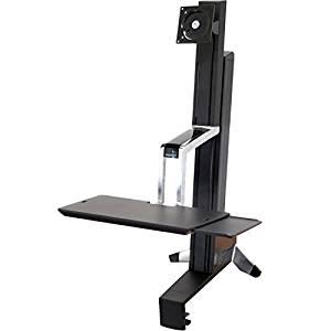 ERGOTRON WorkFit-S mittelgrosser Monitor HD hoehenverstellbar 58cm bis 76,2cm 30Zoll max.16kg  Amazon WHD//  Idealo 269€