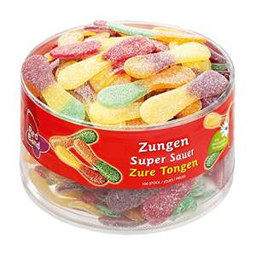 Red Band Zungen super sauer 100 Stück, 1er Pack (1 x 1.2 kg) für 3,92 € @ amazon Sparabo