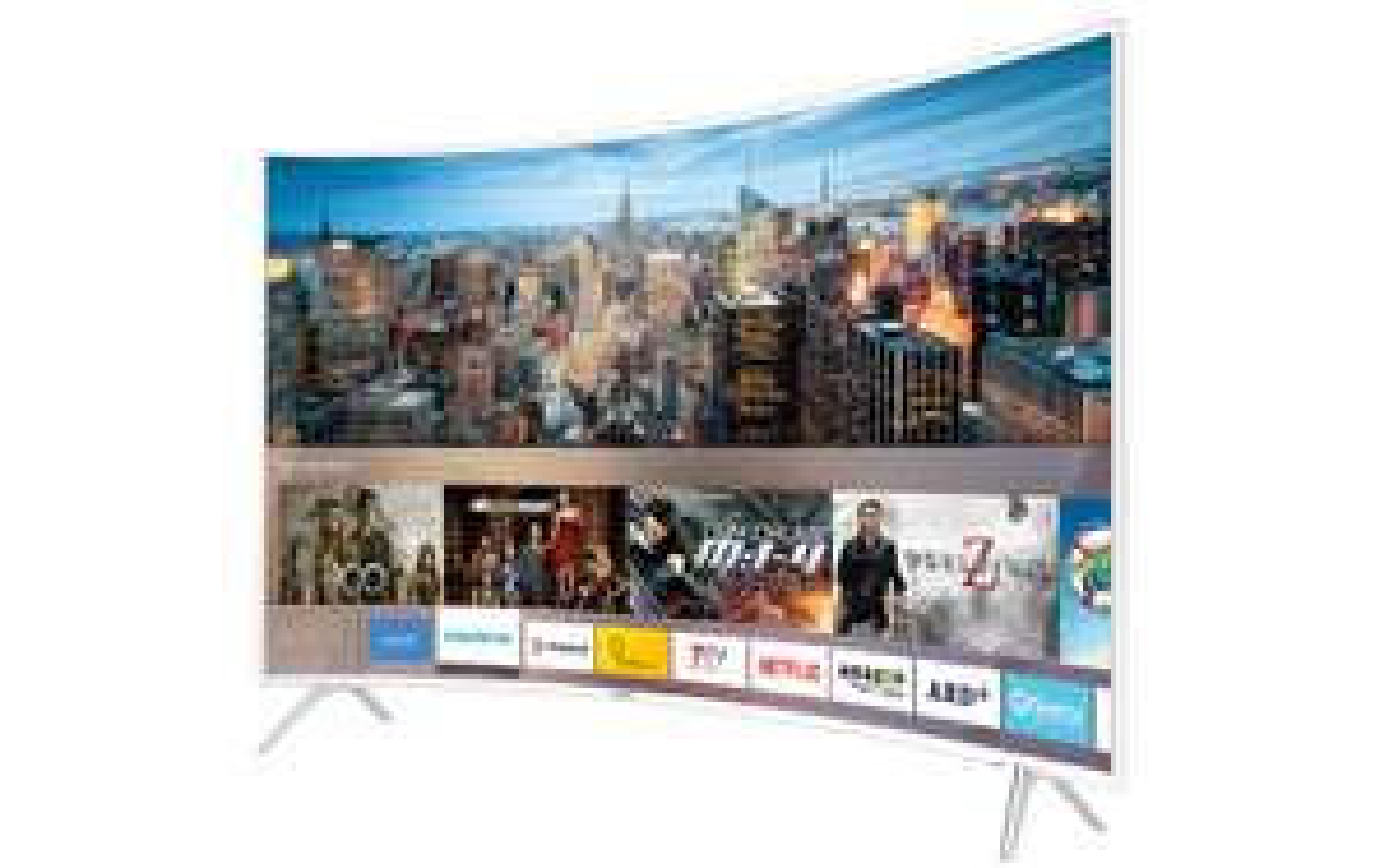 "LED-Fernseher Samsung UE-43KU6519, 43""/109cm, 4K, 3840x2160, Curved, DVB-T2HD/C/S2, HDMI, CI+, USB, WLAN, LAN, VESA: 200x200 (Alternate)"