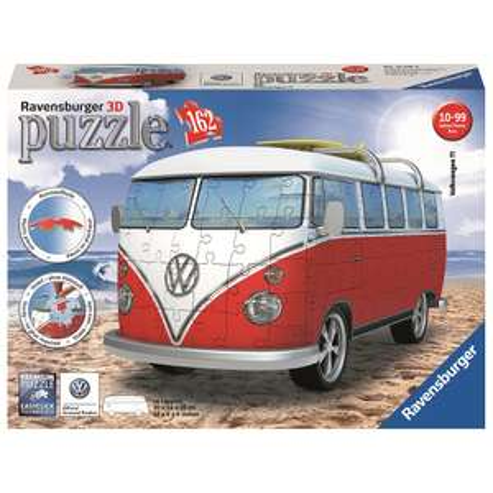 Toys R Us Ravensburger 3D Puzzle: VW Bus T1