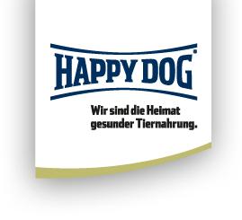Auch für den Hund haut Happy  Dog wieder Trockenfutterproben  raus!