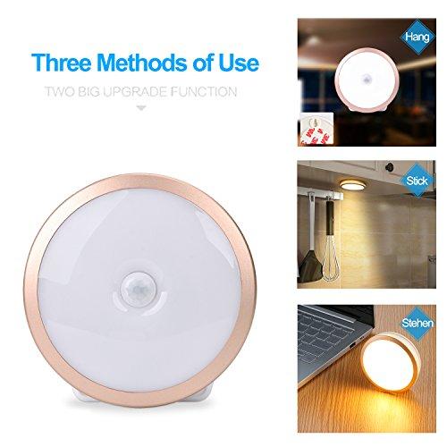 [Amazon] LED Nachtlicht mit Bewegungsmelder, 2er Pack, per USB aufladbar