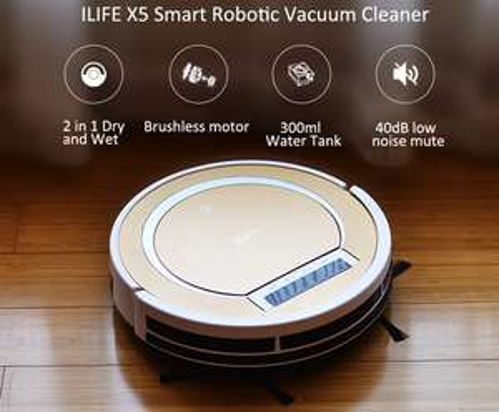 ILife X5 Saugroboter zum Bestpreis. Super Einsteiger Robo!