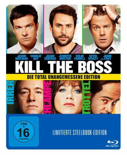 Kill the Boss - Steelbook (Blu-ray) für 5,99€ (Saturn)