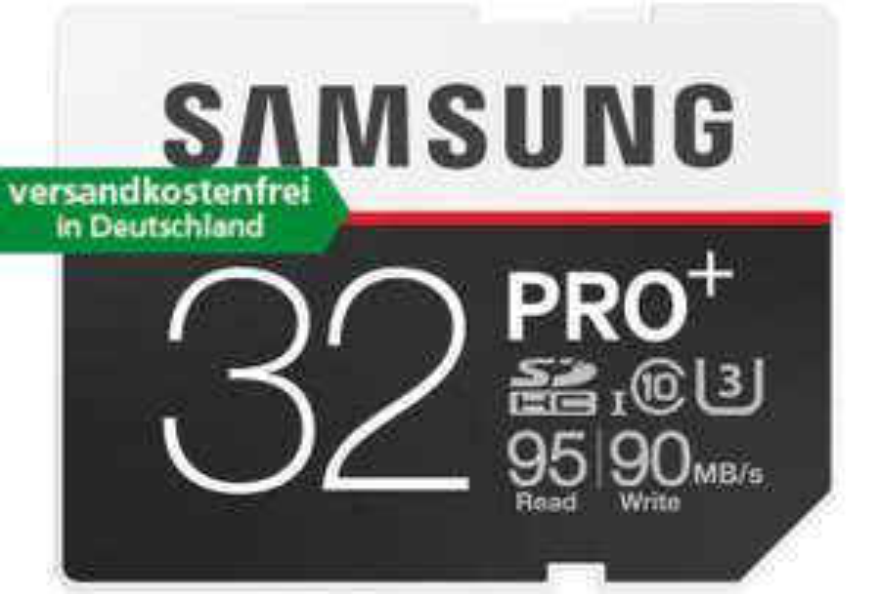 Samsung 32 GB SDHC pro+ 95read/90write [comtech]