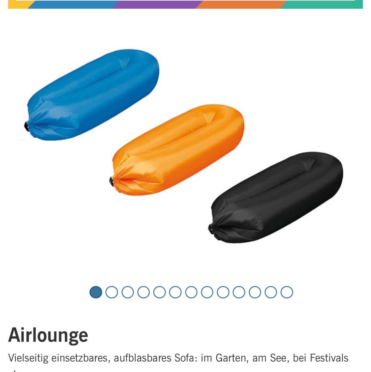 Lidl Online Airlounge,Luftbett, Luftsofa, ideal, leicht,