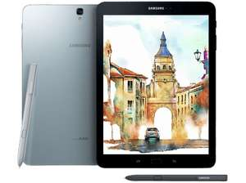 SAMSUNG Galaxy Tab S3 32 GB 9.68 Zoll WiFi schwarz [MediaMarkt]