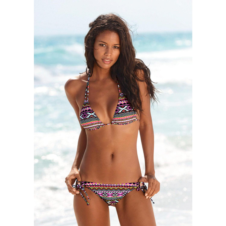 Großer Lascana-Sale mit 10% Rabatt on top, Triangle Bikini mit Aztekenmuster für 21,69€ inkl. Versand an Hermes-Filiale