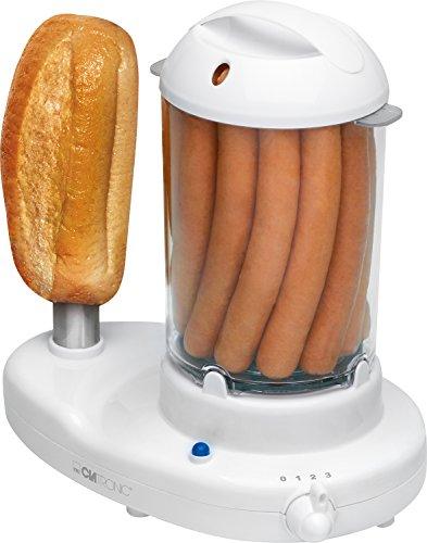 [PRIME] Clatronic HDM 3420 EK Hot-Dog-Maker (inkl. Eierkocher) für 12,34€ statt 19,99€