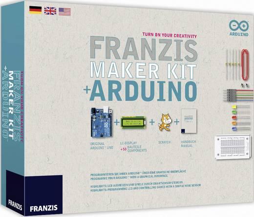 Lern- / Anfängerpaket: Arduino Uno SMD + Franzis: Maker Kit + Arduino für 27,45€ [Conrad]