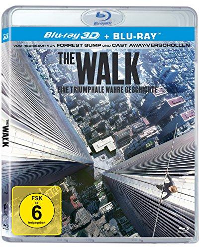 The Walk 3D (2015) (+ Blu-ray) [Amazon Prime] und weitere 3D Filme reduziert