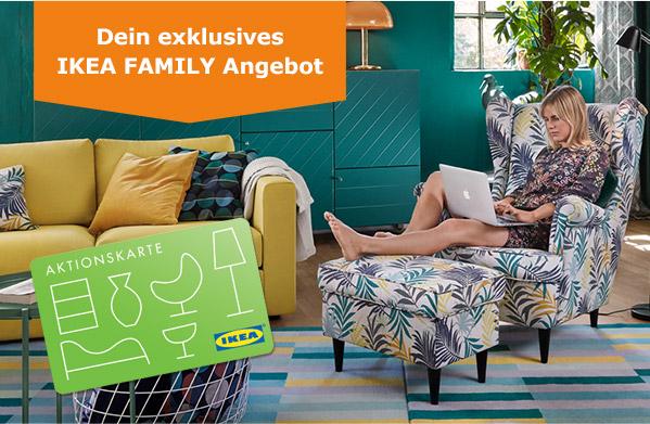 IKEA [Family] - 25€ Aktionskarte je 250 € Einkaufswert Wohnzimmermöbel/Teppiche ab 05.08