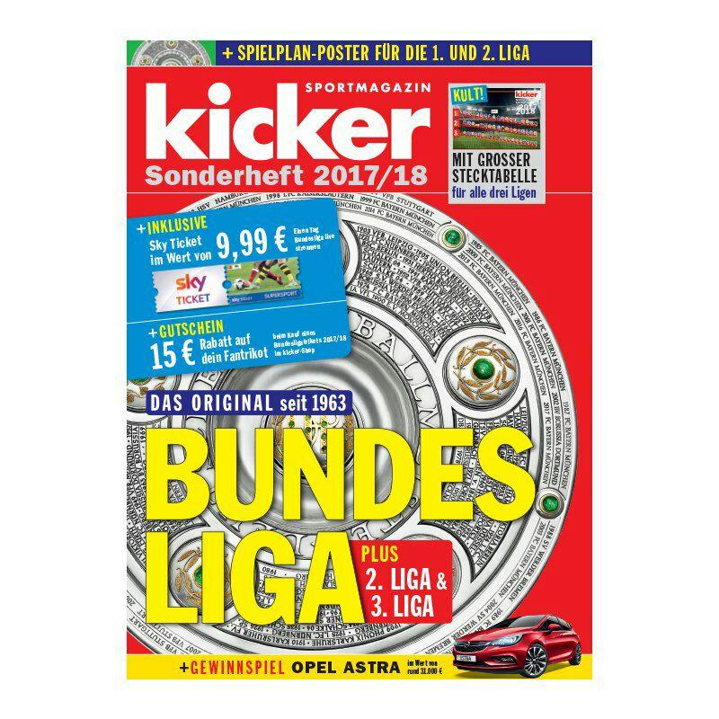 Sky Tagesticket Supersport im Wert von 9,99 € im neuen Kicker Sonderheft nur für Neukunden!