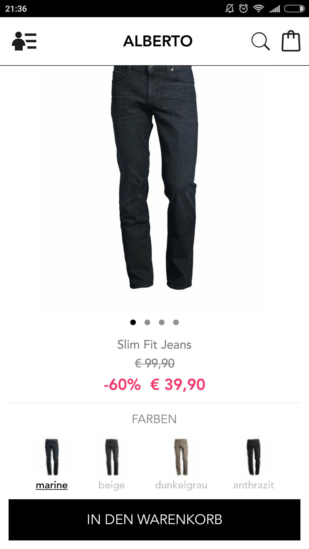 Verschiedene Jeans von Alberto [BestSecret]