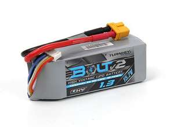 Drohnen Akku Turnigy Bolt V2 1300 mAh 4S 65~130C High Voltage