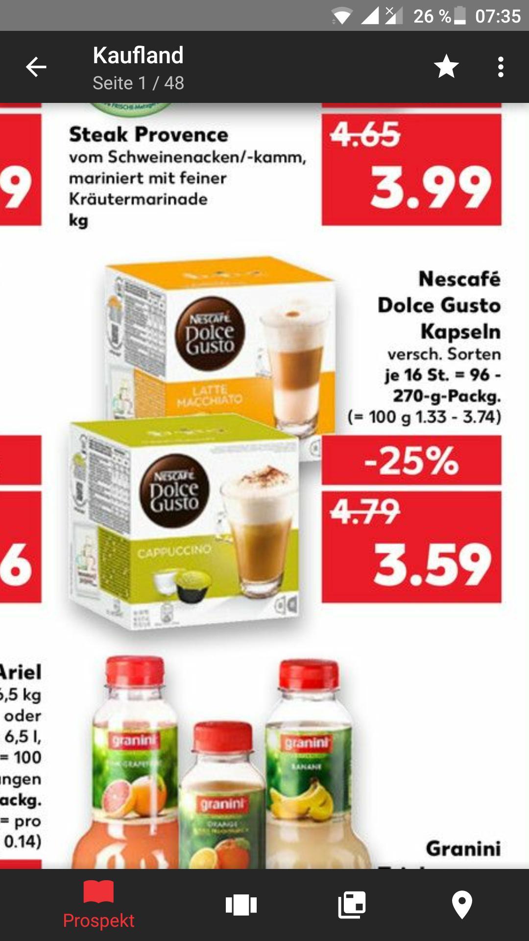 [Kaufland] Dolce Gusto Kapseln wieder für 3,59€