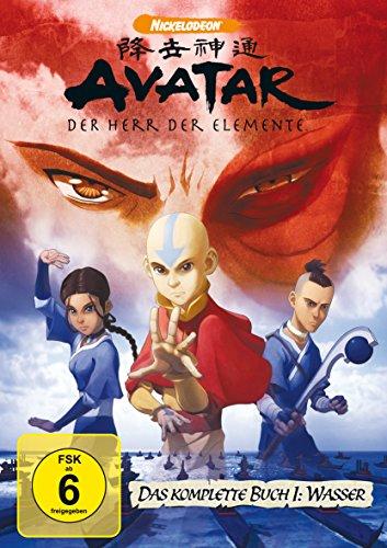 Amazon Avatar - Der Herr der Elemente Buch 1 - 3 Komplett 29,97€ und 9,99€ je Staffel