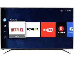 Hisense H65MEC5550 TV (65'' UHD Edge-lit HDR, 800Hz [interpol.], Triple Dual Tuner, 2x HDMI 2.0 + 2x HDMI 1.4, 3x USB, LAN + WLAN mit Smart TV, CI+, USB-Recording, VESA, EEK A+) für 845,10€ [Ebay]