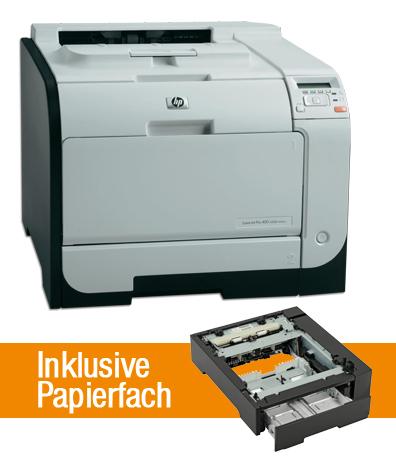 [gebraucht - sehr gut] Farblaser HP Pro 400 color M451dn