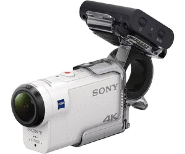 Sony FDR-X3000R inkl. Travel-Paket [amazon.fr - Tagesangebot]