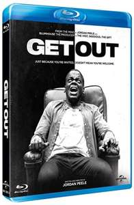 Get Out (Blu-ray) UK-Import, dt. Tonspur