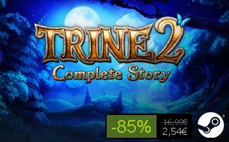 [STEAM] Trine II Complete Story für 2,54€ anstatt 16,99€ - 85% sparen