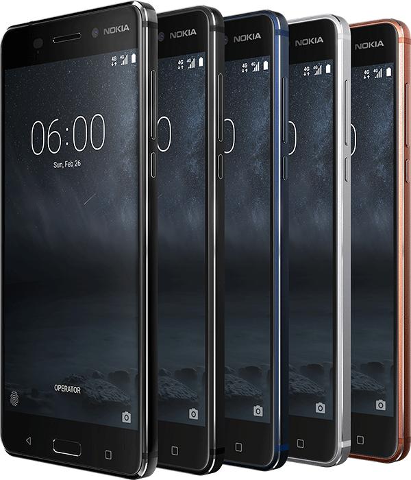 Nokia 6 und Nokia 5 zum aktuellen Bestpreis (Android 7.1 Smartphone )