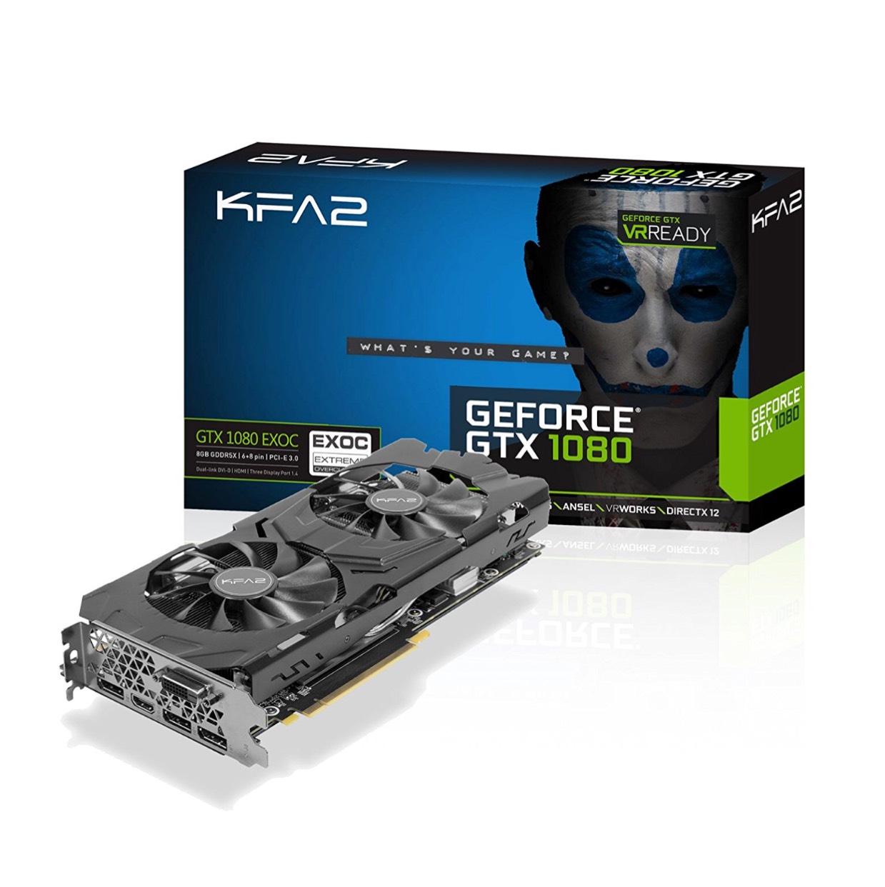 [Amazon.fr]KFA2 GeForce GTX 1080 EXOC 8gb