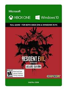 Resident Evil 7 Biohazard: Deluxe Edition (Xbox One + Win 10) für 49,35€ (Amazon.com)