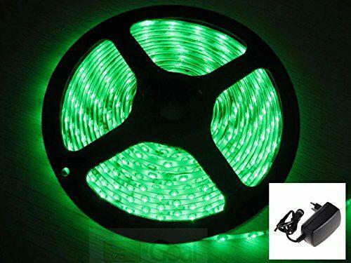 [Amazon Prime] 5M 300 3528 grüner LED Strip (nicht wasserfest) mit 12V 2A Netzteil