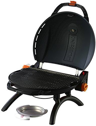 o-grill 900T Tragbarer Gasgrill, schwarz (Amazon) (vergleichbar Napoleon Travel Q 2225)