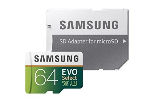 Samsung EVO Select 64GB microSDXC 100MB/s (U3) für 23,81€ (Amazon.com)