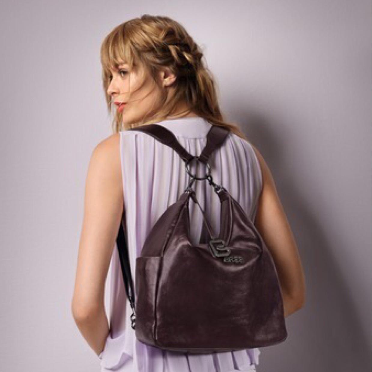BREE Damen Nola 6 Rucksackhandtasche 120€ Preisvergleich 240€