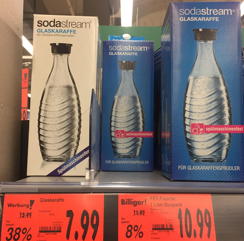 [Kaufland] SodaStream Penguin Glaskaraffe