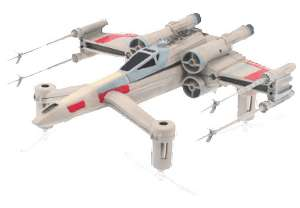 [Saturn] Propel Star Wars T-65 X-Wing Starfighter Battling Multicopter (SammlerBox, Racing Drohnen, Quadrocopter, Flip,  max. Geschwindigkeit 56 km/h)
