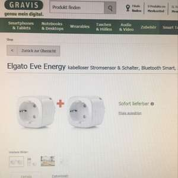 2x Elgato Eve Energy [gravis.de]
