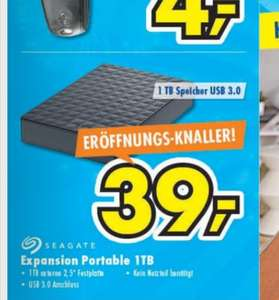Seagate expansion portable 1tb festplatte (Lokal euronics Wildeshausen)
