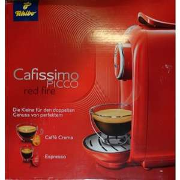 Tchibo Cafissimo Picco Kaffeekapselmaschine Kaffeemaschine Red Fire
